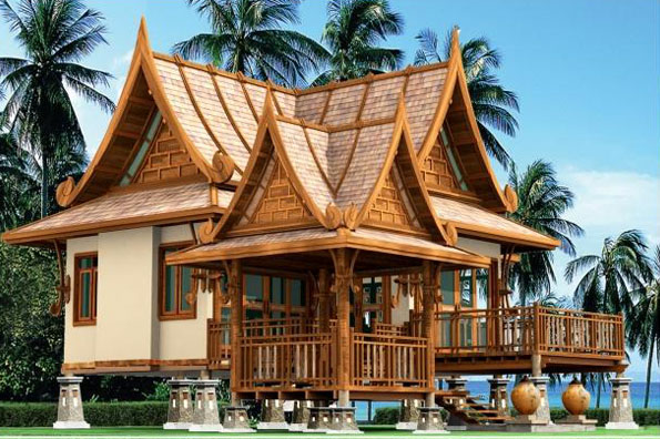 Thai architecture overview design principles for Traditional beach house designs