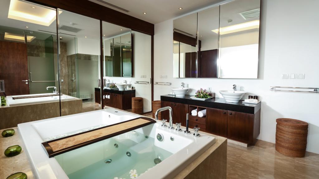 Spa Style Bathroom Villa Kalyana Phuket